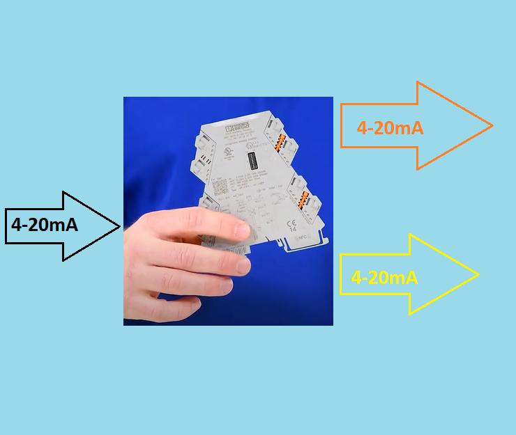 Signal Isolator 2 ngõ ra 4-20mA