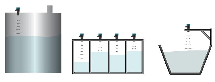 Cảm biến báo mức bể chứa nước