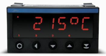 Bộ hiển thị điều khiển nhiệt độ PT100 châu Âu
