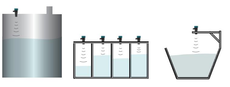 Lắp đặt cảm biến đo mức bể nước ngầm