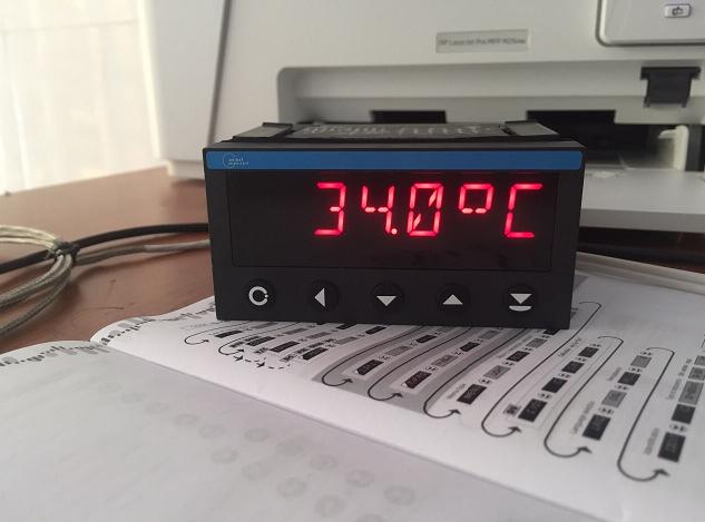Thiết bị hiển thị nhiệt độ pt100 giá rẻ