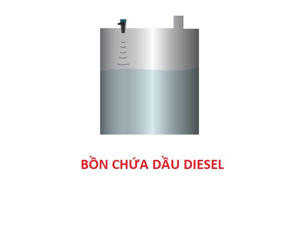 Cảm biến đo mức bồn dầu diesel