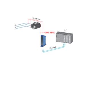 Bộ Chuyển Đổi Điện Áp 0-450V AC Ra 4-20mA