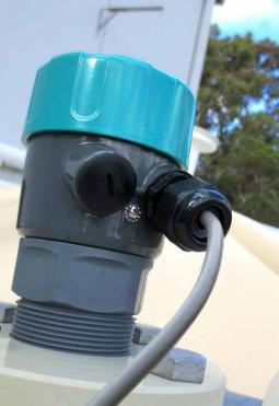 Ứng dụng cảm biến báo mức nước thải liên tục