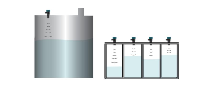 giải pháp đo thể tích chất lỏng cho bể ngầm