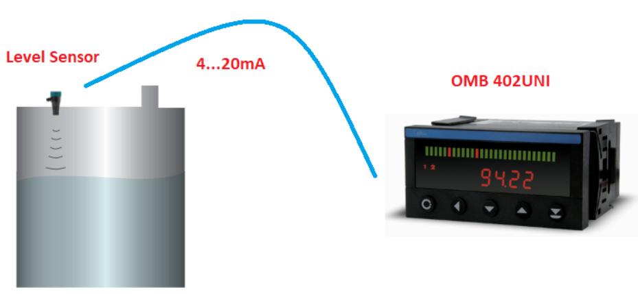 đo thể tích bằng cảm biến MWB1A