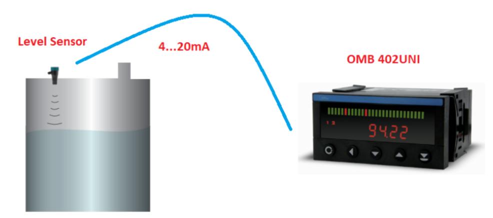 đo thể tích axit bằng cảm biến siêu âm