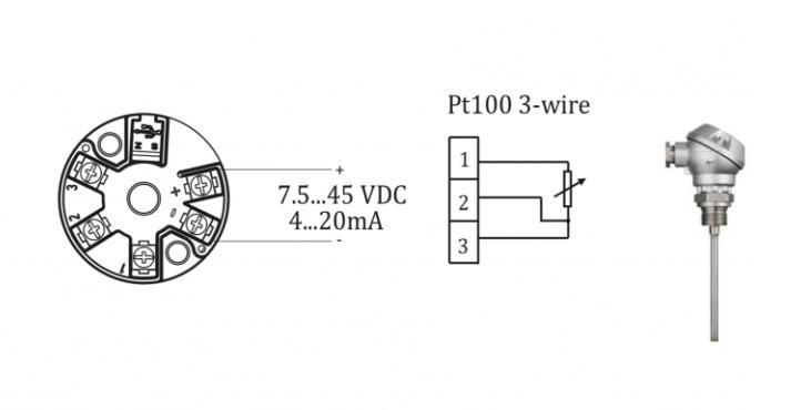 Thông số kỹ thuật của bộ chuyển đổi pt100 3 dây ra 4-20ma