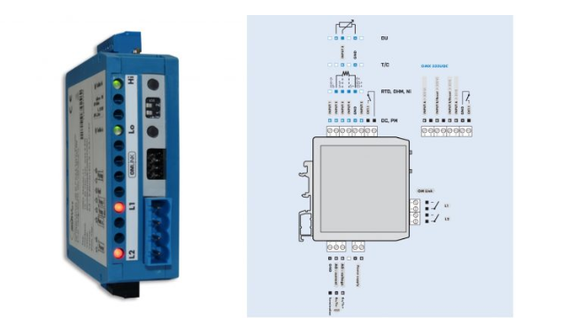 thiết bị chuyển đổi từ ct dòng ra 4-20mA OMX 333