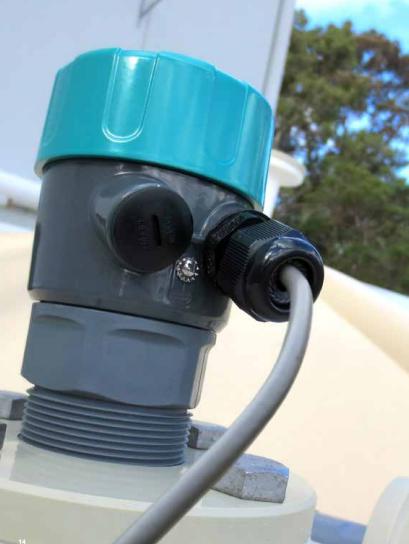 cảm biến đo mức bể chứa nước ngầm