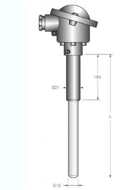 cấu tạo của can nhiệt loại s bọc sứ giá rẻ
