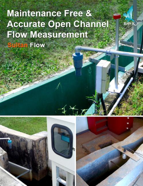 giám sát mức nước trong hồ thủy điện bằng cảm biến siêu âm
