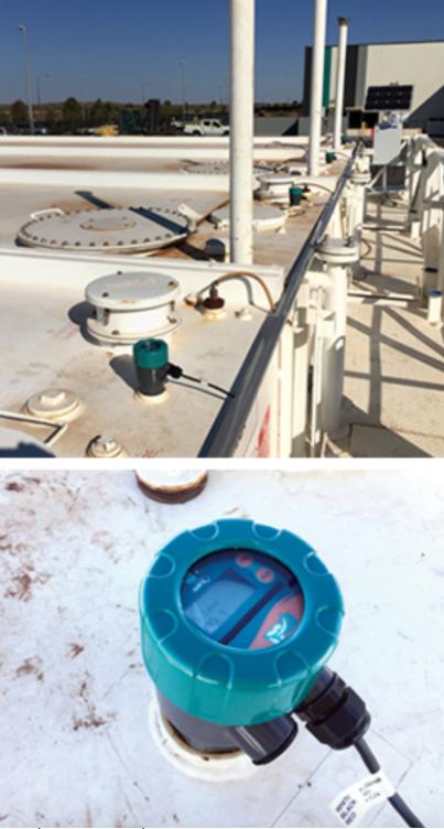 đo mức xăng dầu trong tank bằng cảm biến mwb1a