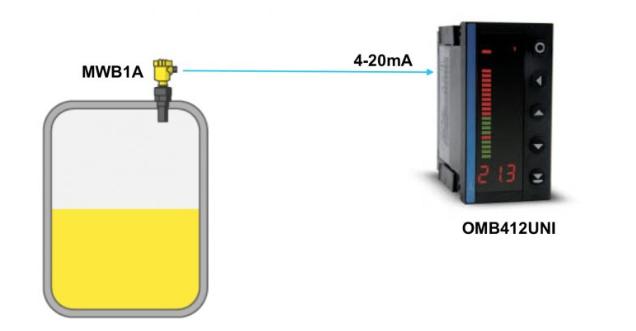 cảm biến giám sát mức nước trong bồn chứa
