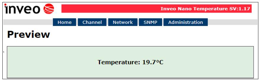 giao diện web để giám sát nhiệt độ