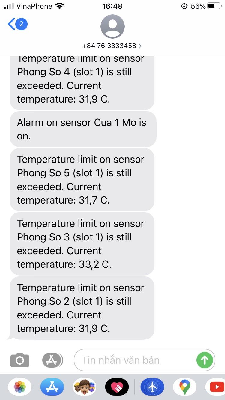 Bộ ghi lưu dữ liệu nhiệt độ độ ẩm áp suất cho tủ vắc xin