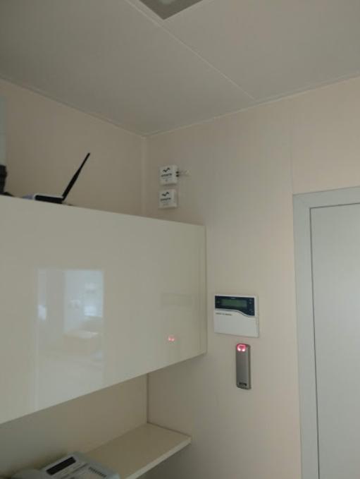 cảm biến đo chênh áp phòng sạch không dây