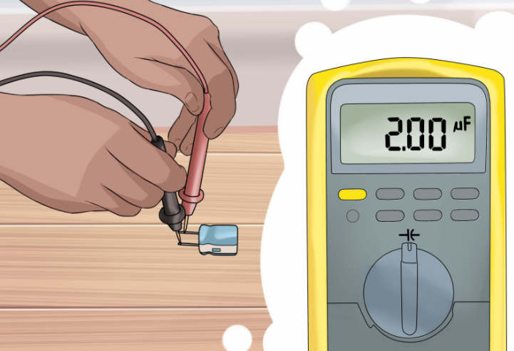 cách đo tụ điện