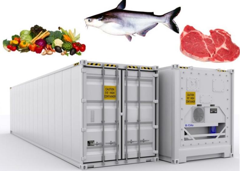 nhiệt kế tự ghi cho xuất khẩu thực phẩm