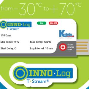 nhiệt kế tự ghi dùng 1 lần của Pháp giá rẻ