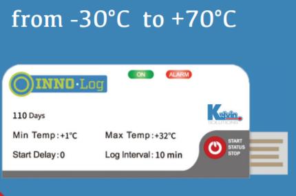 nhiệt kế tự ghi dùng 1 lần cho xuất khẩu thực phẩm