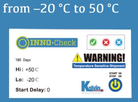 thiết bị check nhanh chất lượng nhiệt độ vận chuyển hàng hóa