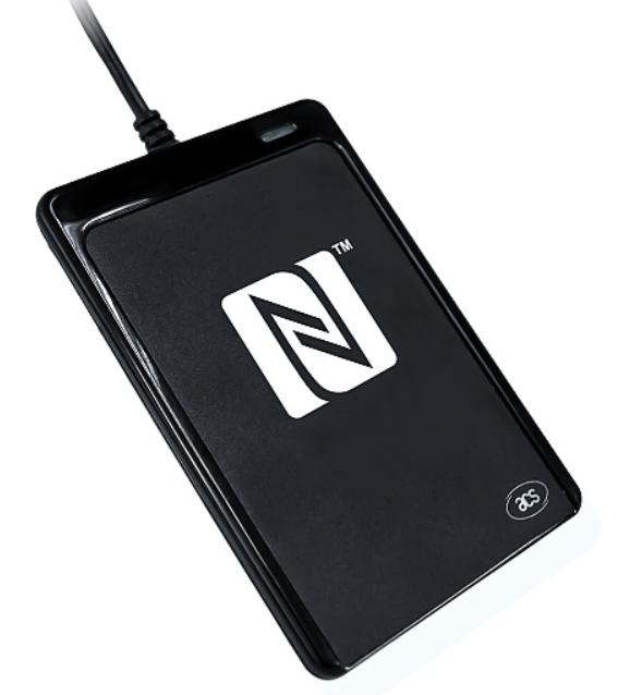 đầu đọc NFC kết nối với máy tính