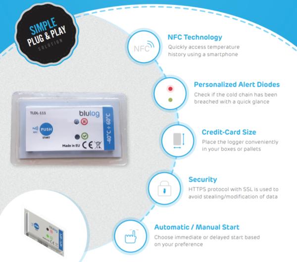 nhiệt kế tự ghi xuất dữ liệu qua NFC giá rẻ