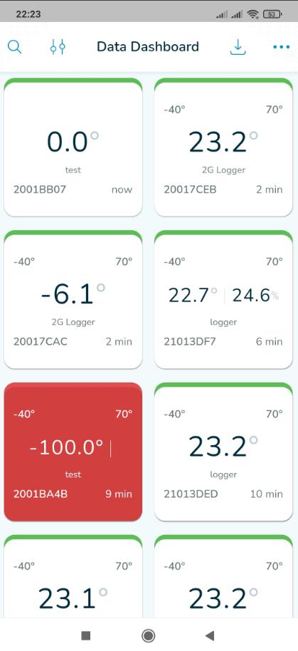 app theo dõi nhiệt độ xe lạnh từ xa