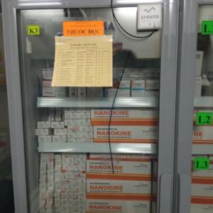 nhiệt kế cảnh báo nhiệt độ kho lạnh vắc xin qua sms email