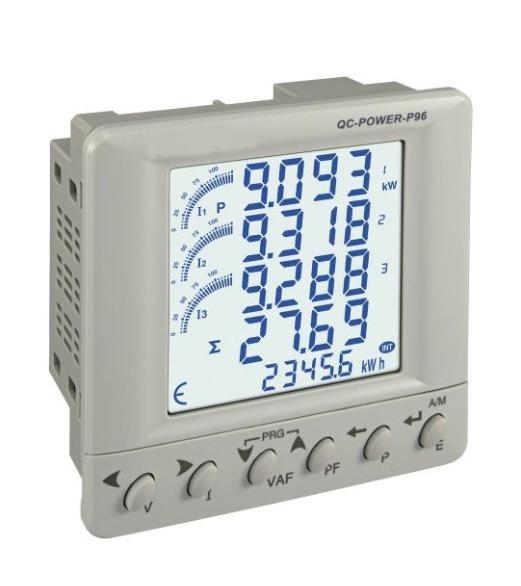 đồng hồ điện tử đo điện năng 3 pha giá rẻ