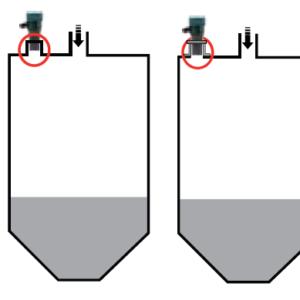 cảm biến siêu âm đo mức hóa chất