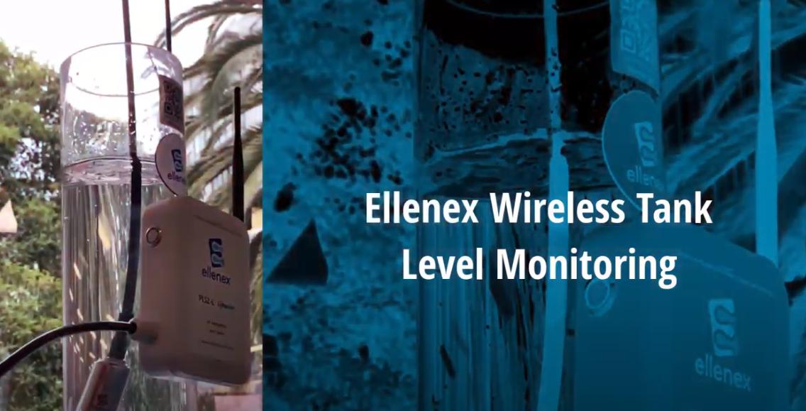 thiết bị đo mức nước không dây